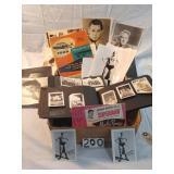 ctn. of old photos and memorabilia. George Reeves,