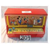 vintage Walt Disney jukebox