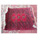 "persian prayer mat. 26""x21"