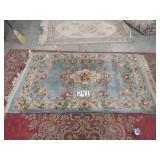 """chinese handmade rug. 76""""x49"""""""