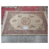 """chinese handmade rug. 76""""x48"""""""