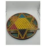 Vintage 1953 Chinese Checkers / checkers board