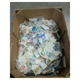 Over 7+ pounds of stamps!