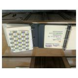 Pair of stamp albums in box  World and US. Some