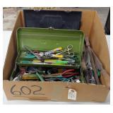 ctn. of tools. view pics.