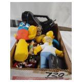 ctn. w/small vintage toys