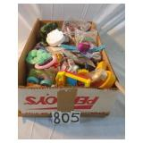 ctn. of older small childs toys and prizes.