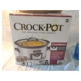 crockpot new in box.
