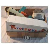 vintage fischer price plane and 1979 toys r us