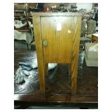 Mission Oak antique smoking stand