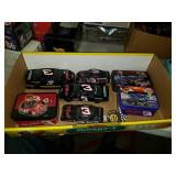 Box  Of Dale Earnhardt collectibles die cast cars