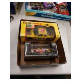Box with 2 Diecast cars