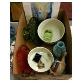 Box  Glass Jewel T bowls Owl candle lamp