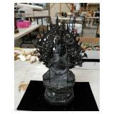 Metal Buddha figurine