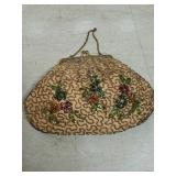 Beaded handbag made in Belgium