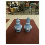 Pr.of Wedgwood   Salt shakers