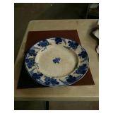 15 in in diameter English Antique Center plate