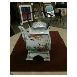 Fitz & Floyd Japanese 3pc. teapot