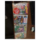 4 comic books  X-Force #1 Iron Man #268 X-Men