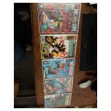 5 Comic Books Wolverine #28, 34, 37, 39, 40
