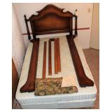 Double Bed with headboard and footboard