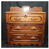 Three drawer small dresser