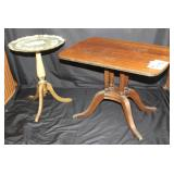 Oval Stand and Ferguson Table