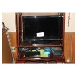 "Toshiba 26"" TV and Sony DVD player"