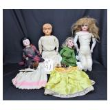 German Dolls and Misc Dolls