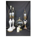Oriental and touch lamps