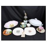 Dresdon Tea and Saucer, Royal Bavaria, much more