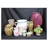 Pitcher, Vase, Fruit display, cookie jar