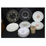 Syracuse Plates, Homer Laughlin, Karlsbad Austria