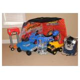 Boys toys, Cars Tent, motorcycle, karaoke machine