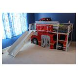 Firetruck Bed and slide