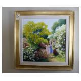 Oil on Canvas by Louis Fabien