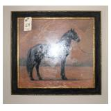 English Unsigned Equestrian Painting