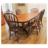 Gasco Furniture Dining Table and 8 chairs