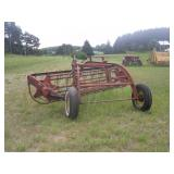 International Harvester hay rake