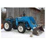 Ford 5610 loader tractor