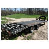 Custom Built trailer, tandem duals