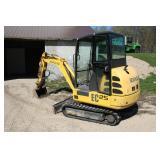 New Holland mini-excavator