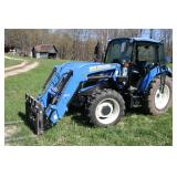 New Holland T4.75 diesel tractor