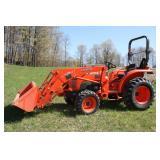 Kubota compact utility tractor
