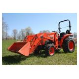 New Holland T4.75 loader tractor