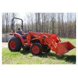 Kubota L3200 4wd tractor