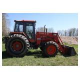 Kubota 8580 4wd tractor
