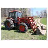 Kubota 8580 farm tractor