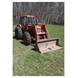 Kubota 8580 loader tractor