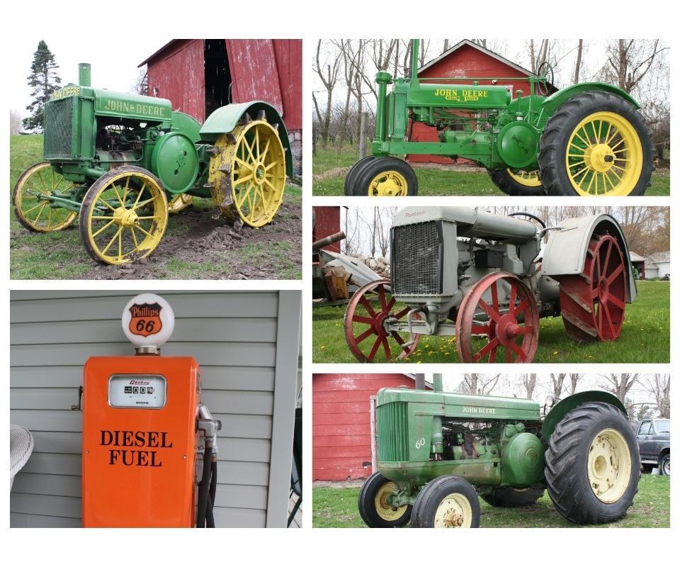 New John Deere Air Compressors Models For Sale Bridgeport >> Mcauliff Farm Absolute Auction Collectible Tractors Tools Shop